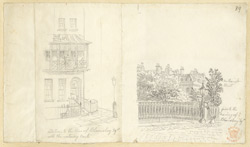 Bloomsbury Square, London, c.1830 f89